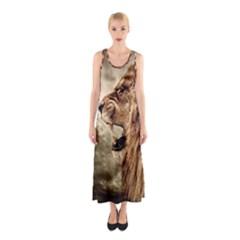 Roaring Lion Sleeveless Maxi Dress