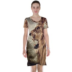 Roaring Lion Short Sleeve Nightdress