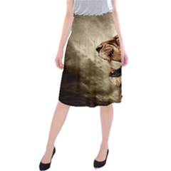 Roaring Lion Midi Beach Skirt