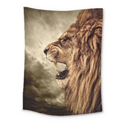 Roaring Lion Medium Tapestry