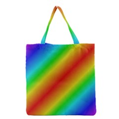 Background Diagonal Refraction Grocery Tote Bag