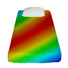 Background Diagonal Refraction Fitted Sheet (single Size)