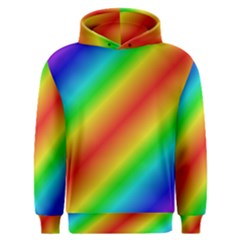 Background Diagonal Refraction Men s Overhead Hoodie