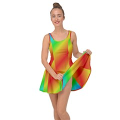 Background Diagonal Refraction Inside Out Dress