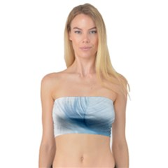 Feather Ease Slightly Blue Airy Bandeau Top