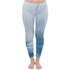 Feather Ease Slightly Blue Airy Classic Winter Leggings