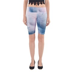 Feather Ease Slightly Blue Airy Yoga Cropped Leggings