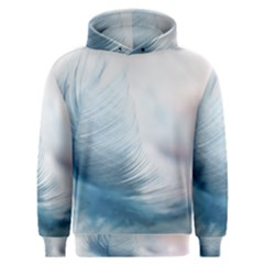 Feather Ease Slightly Blue Airy Men s Overhead Hoodie