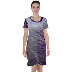 Feather Ease Airy Spring Dress Short Sleeve Nightdress