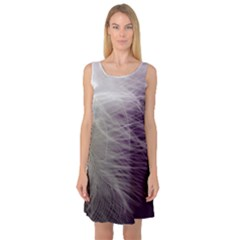 Feather Ease Airy Spring Dress Sleeveless Satin Nightdress