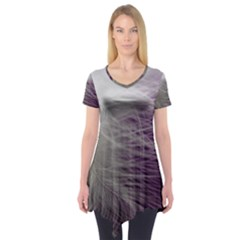 Feather Ease Airy Spring Dress Short Sleeve Tunic