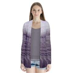 Feather Ease Airy Spring Dress Drape Collar Cardigan