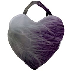Feather Ease Airy Spring Dress Giant Heart Shaped Tote