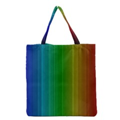 Spectrum Colours Colors Rainbow Grocery Tote Bag