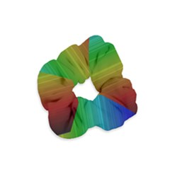 Spectrum Colours Colors Rainbow Velvet Scrunchie