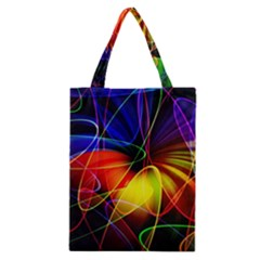 Fractal Pattern Abstract Chaos Classic Tote Bag