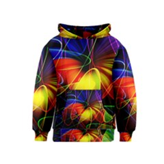 Fractal Pattern Abstract Chaos Kids  Pullover Hoodie