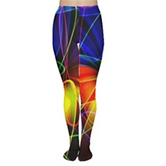 Fractal Pattern Abstract Chaos Women s Tights