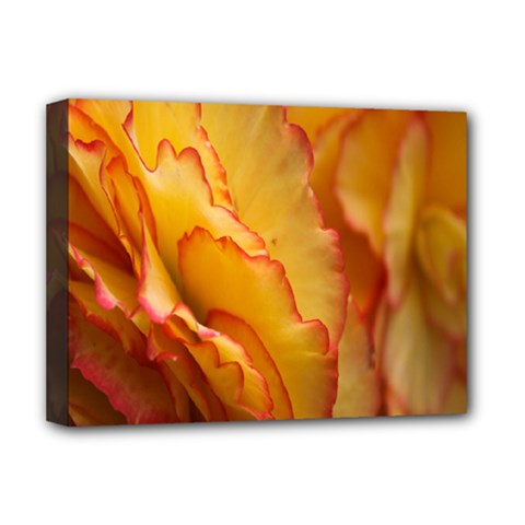 Flowers Leaves Leaf Floral Summer Deluxe Canvas 16  X 12