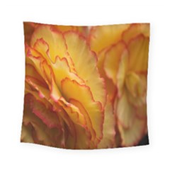 Flowers Leaves Leaf Floral Summer Square Tapestry (small)