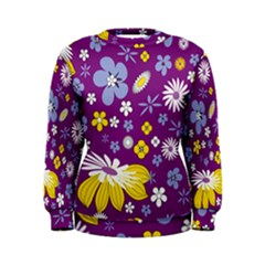 Floral Flowers Women s Sweatshirt