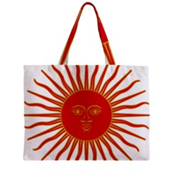 Peru Sun Of May, 1822 1825 Zipper Mini Tote Bag by abbeyz71