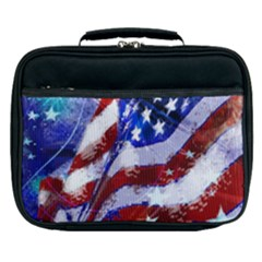 Flag Usa United States Of America Images Independence Day Lunch Bag by Sapixe