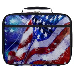 Flag Usa United States Of America Images Independence Day Full Print Lunch Bag by Sapixe