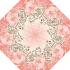 Wonderful Soft Flowers With Floral Elements Folding Umbrellas by FantasyWorld7