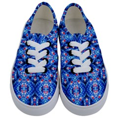 Artwork By Patrick Colorful 27 Kids  Classic Low Top Sneakers