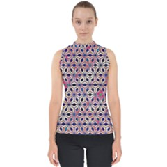 Asterisk Pattern Sacred Geometry 2 Shell Top
