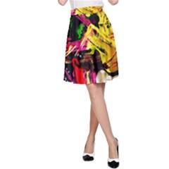 Spooky Attick 1 A Line Skirt