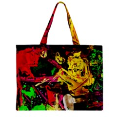 Spooky Attick 1 Zipper Mini Tote Bag by bestdesignintheworld