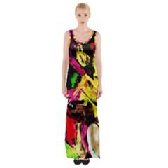 Spooky Attick 1 Maxi Thigh Split Dress