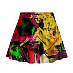 Spooky Attick 1 Mini Flare Skirt