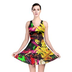 Spooky Attick 1 Reversible Skater Dress