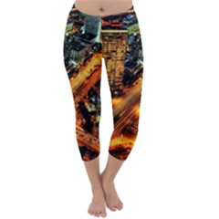 Hdri City Capri Winter Leggings