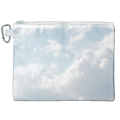Light Nature Sky Sunny Clouds Canvas Cosmetic Bag (xxl) by Sapixe