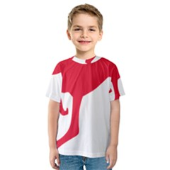 Australian Army Vehicle Insignia Kids  Sport Mesh Tee
