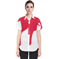 Australian Army Vehicle Insignia Women s Short Sleeve Shirt
