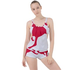 Australian Army Vehicle Insignia Boyleg Tankini Set