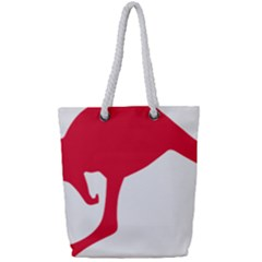 Australian Army Vehicle Insignia Full Print Rope Handle Tote (small)