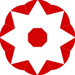 Roundel Of Austrian Air Force  Golf Umbrellas