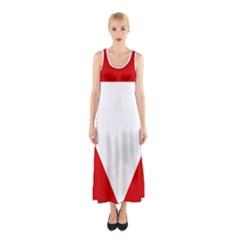 Roundel Of Austrian Air Force  Sleeveless Maxi Dress