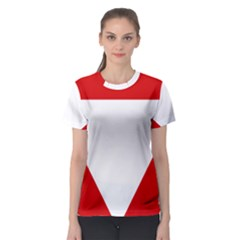 Roundel Of Austrian Air Force  Women s Sport Mesh Tee