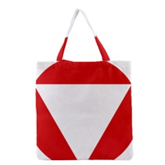 Roundel Of Austrian Air Force  Grocery Tote Bag