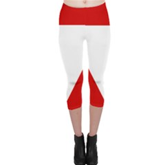 Roundel Of Austrian Air Force  Capri Leggings