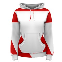 Roundel Of Austrian Air Force  Women s Pullover Hoodie