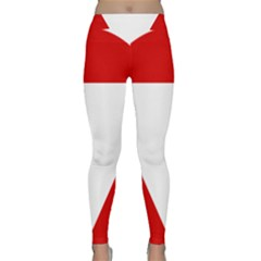 Roundel Of Austrian Air Force  Classic Yoga Leggings