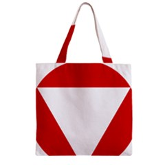 Roundel Of Austrian Air Force  Zipper Grocery Tote Bag